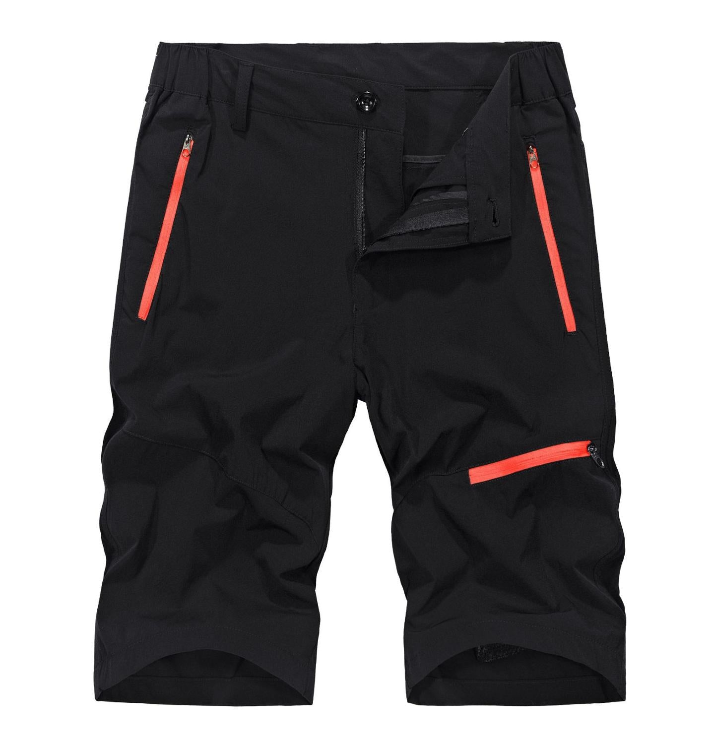 Men's Summer Quick Dry Breathable Shorts Men Cargo Jogger Shorts Outdoor Sportswear Hiking Camping Fishing Climbing Trousers