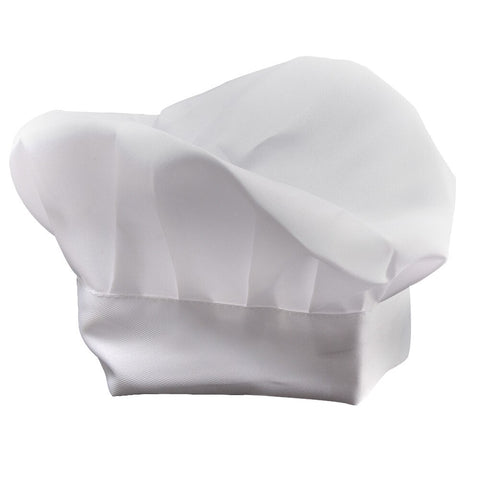 White Paper Chef Cook Baker Hat Child Unisex Costume Accessory NEW