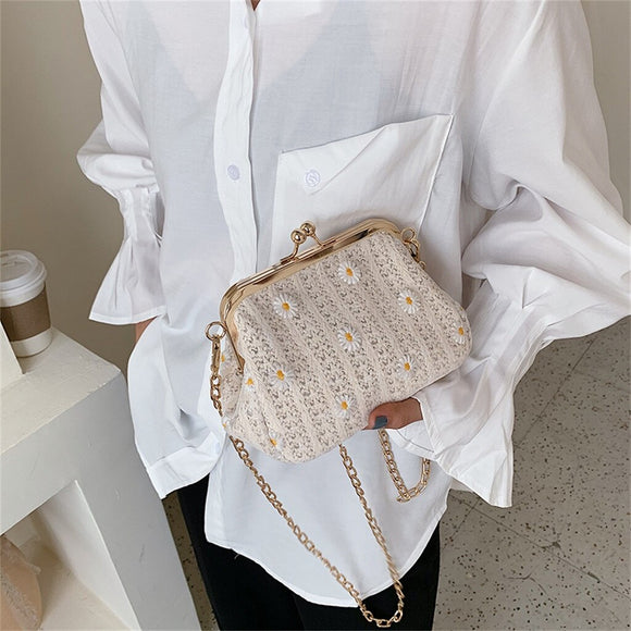 Small Straw Bucket Bags For Women 2020 Summer Crossbody Bags Lady Travel Purses and Handbags Female Shoulder Messenger Bag 6.15