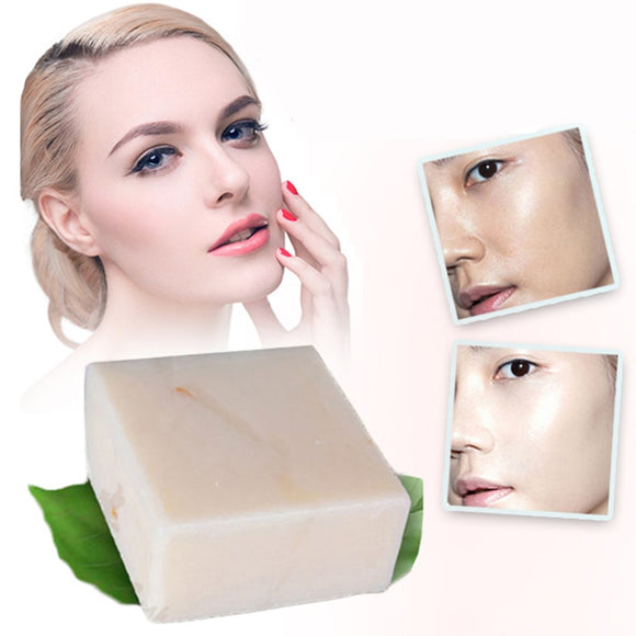 60g Hand Soap Thailand Jasmine Rice Handmade Collagen Skin Care Bathing Tool Rice Milk Soap Bleaching Agents Acne Soap TSLM2
