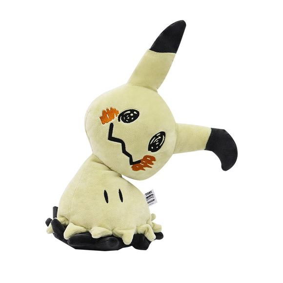 Cute Pikachu Plush Doll Game Toys Halloween Camping Mimikyu Plush Stuffed Dolls Large Camping At Night Toys for Children 35cm