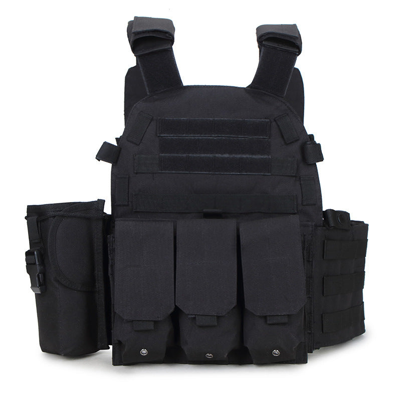 Outdoor Hunting Ciras Tactical Military Airsoft Vest Plate Carrier Unloading Chest Rig Bag Army Camping Travel Sport Trecking 1