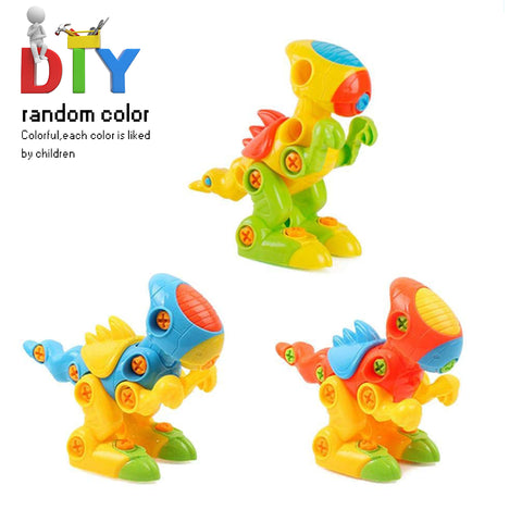 Dinosaur Toy Assembly Assemble Take Apart DIY Educational Gift for Kids
