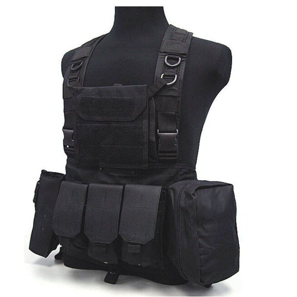 Outdoor Hunting Ciras Tactical Military Airsoft Vest Plate Carrier Unloading Chest Rig Bag Molle Camping Travel Sport Trekking 3