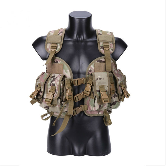 Outdoor Hunting Ciras Tactical Military Airsoft Vest Plate Carrier Unloading Chest Rig Bag Molle Camping Travel Sport Trekking 2