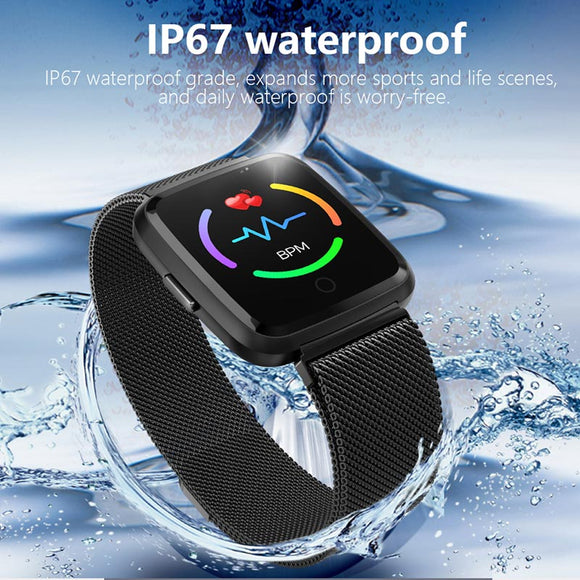 Smart Watch Y7 Men Women Fitness Tracker Watch Blood Pressure Waterproof IP67 Smartwatch GPS Activity Tracker For Android IOS