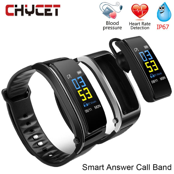Y3 PLUS Smart Band Answer Call Watch Fitness Tracker Waterproof IP67 Heart Rate Monitor Pedometer Watch Sport For Women Men