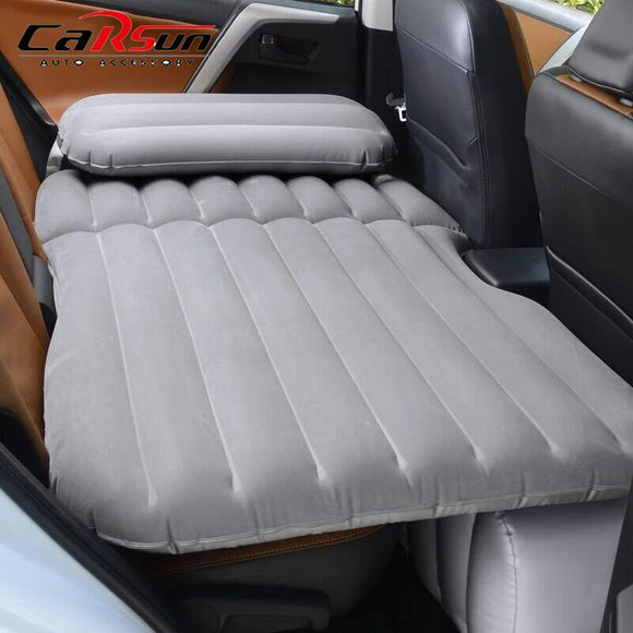Car Bed Camping 135*80*35CM Car Mattress Inflatable Car Mattress Flocking/Oxford Colchon Inflable Para Auto Travel Bed For SUV