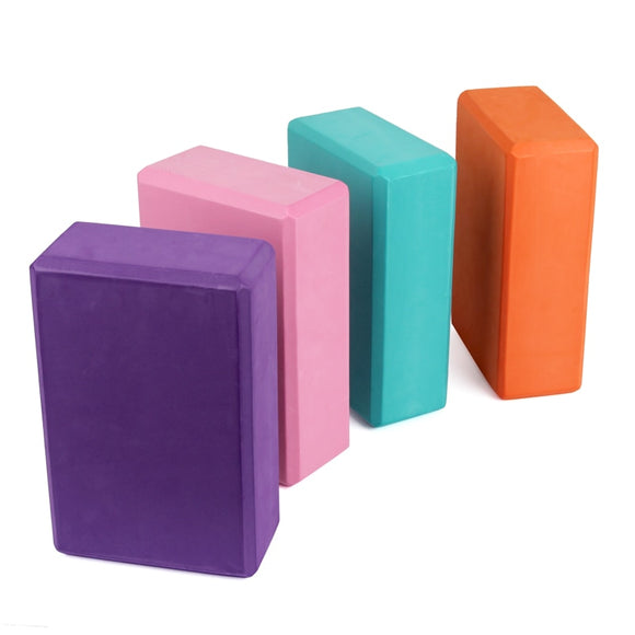 1Pcs EVA Yoga Block Foam Foaming Block Brick Exercises Fitness Tool Workout Stretching Aid Body Shaping Health Training