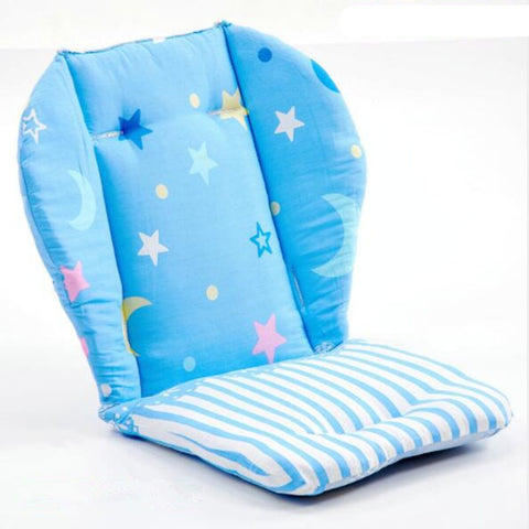 Children Increased High Chair Seat Pad Safe Booster Detachable Washable Dining Cushion Color : Beige-based Animal Print