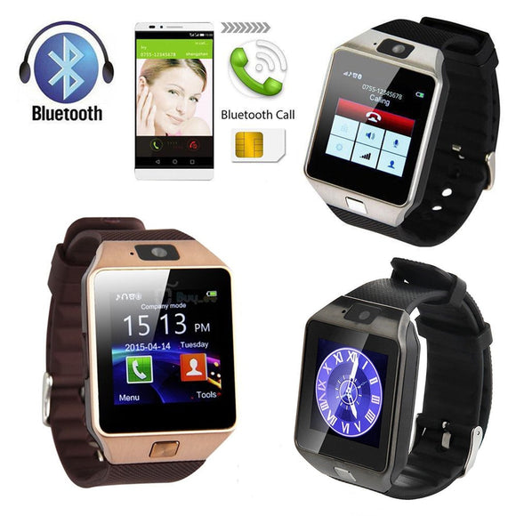 2019 Bluetooth Smart Watch Men Wimen With Touch Screen Big Battery Support TF Sim Card Camera For IOS iPhone Android Phone