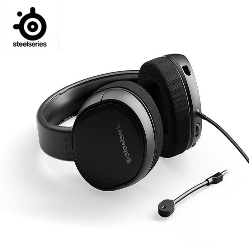 SteelSeries Arctis Raw computer 7.1 headphone headset  e-sports gaming headphone  mobile phone heavy bass noise reduction CF