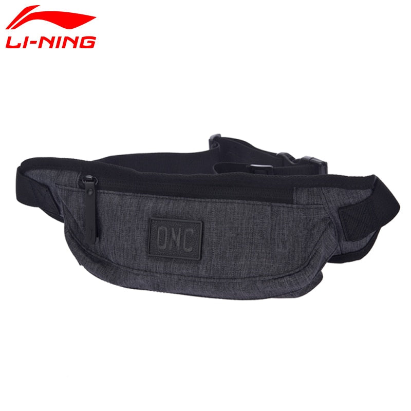 Li-Ning Unisex Training Waistpack Polyester Classic Leisure Chest Package LiNing li ning Sports Bag ABLM032 BJY036