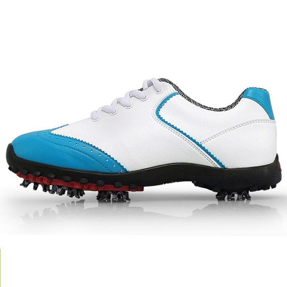 Pgm Golf Shoes For Women Waterproof Ultra-Slippery Sneaker Breathable Athletic Shoes Professional Female Golf Sport Shoes D0350