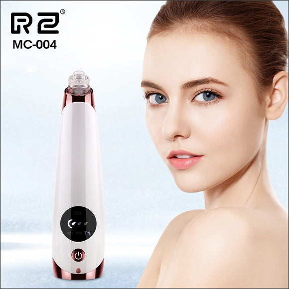 AOPHIA Blackhead Remover Skin Care Pore Acne Pimple Removal Vacuum Suction Tool Facial Diamond Dermabrasion Machine Face Clean