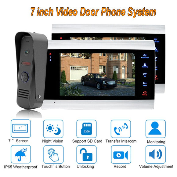New Doorbell Video Door  Intercom System  7