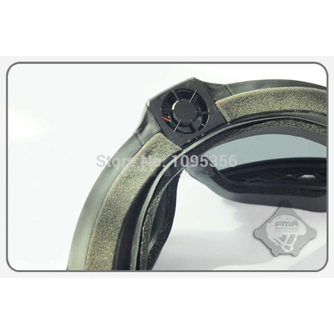 FMA LPG01BK12-2R Regulator Updated Version With Fan Goggle Tactical Glasses