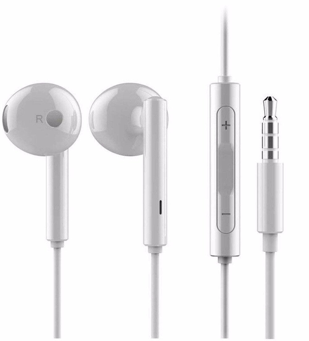 Original Huawei Earphone AM115 Half In-Ear with Remote Wire Control and Mic free shipping