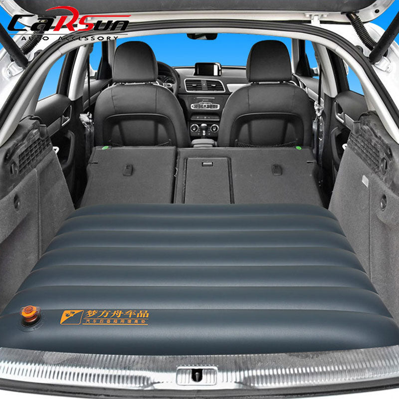 Camping Car Bed Car Mattress Portable Air Bed Foldable Trunk Cushion For Children Inflatable Car Mattress For SUV