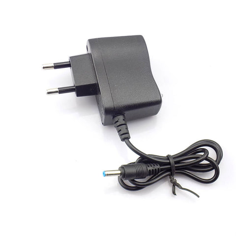 UK Plug 3.5mm AC Wall Charger for Rechargeable 18650 Battery Flashlight Torches