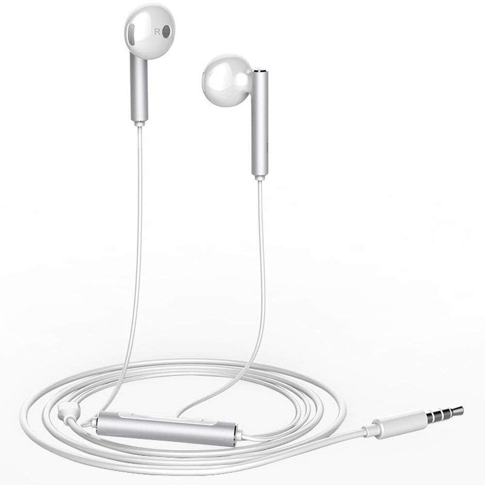 Original Huawei Earphone AM116 Half In-Ear  with Remote Wire Control and Microphone free shipping