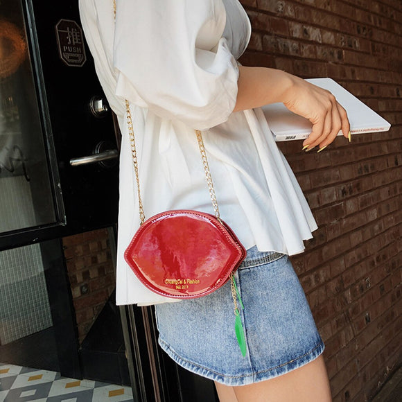 CONEED Fashion Women Pearl Crossbody Bag Sequins Chain High Quality Leather Colorful Messenger Bag May20