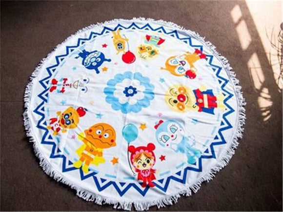 120x120cm Bread Superman Princess Alice Girl Blanket Beach Towel Mat Soft Top Warm Flannel World Kids Flowers Throw Blanket Gift