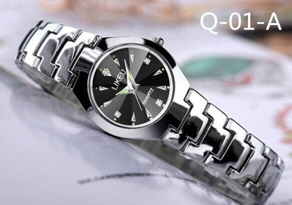 Simple fashion trend watch men and women students waterproof couple watch quartz watch
