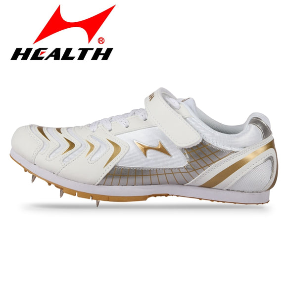 Health Long-jump jumping shoes running spikes student running shoes sneakers track and field for men spike sneakers size 35-44