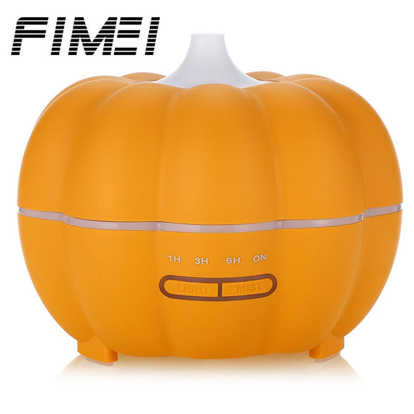 FIMEI GD - 35C 350ml Cool Pumpkin Mist Ultrasonic Air Humidifier Aroma Diffuser Essential Oil Diffuser Auto-Off  Switch LED