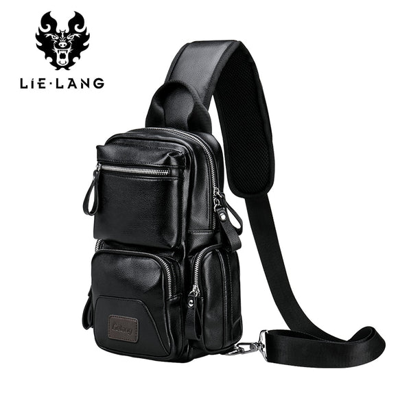 LIELANG Crossbody Bags for Men Messenger Chest Bag Pack Casual Bag Waterproof Single Shoulder Strap Pack 2019 New Fashion bag