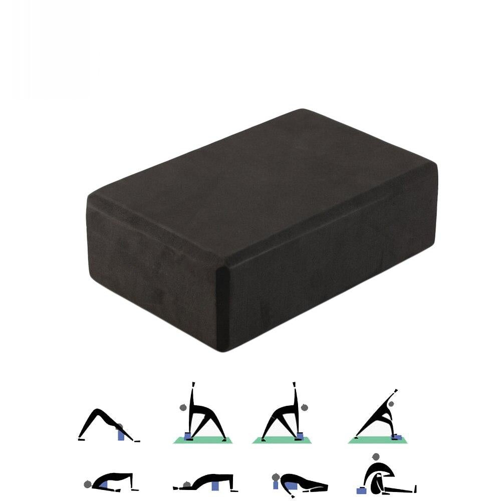 EVA Yoga Block Brick Foam Home Exercise Fitness Roller Massage Gym Stretching Aid Body Shaping Health Training Dropshipping