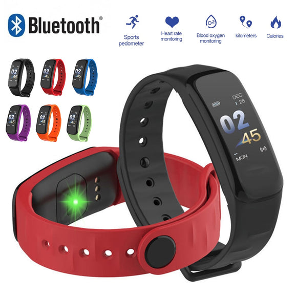 IP67 Waterproof  Bluetooth Smart Watch women  Sports Fitness Heart RateTracker Blood Pressure Men smartwatch for IOS Android