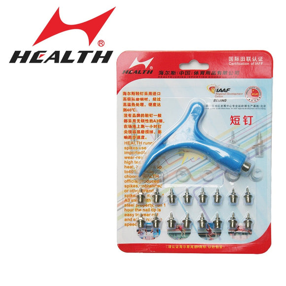 Health track and field for Jet-set general spikes hurdler nail spikes