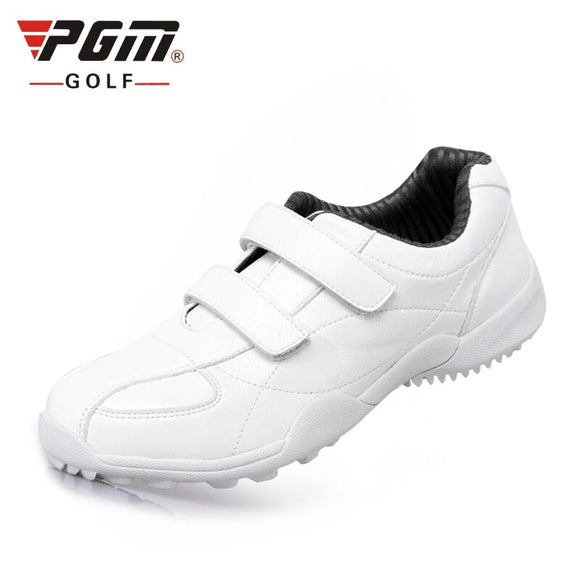 Pgm Women Golf Sports Shoes Light Breathable Waterproof Without Spikes Sneakers Non-Slip Woman Microfiber Leather Shoes AA10098