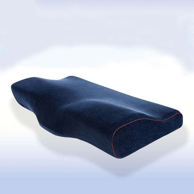 Memory Foam Bedding Pillow Neck protection Slow Rebound Memory Foam Butterfly Shaped Pillow Health Cervical Neck size in 60*35CM
