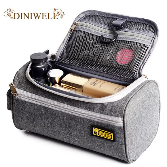Makeup bag waterproof oxford men's cosmetics cosmetic bag Travel Organizer Case Beautician Storage Bag Lady Toiletry Bags
