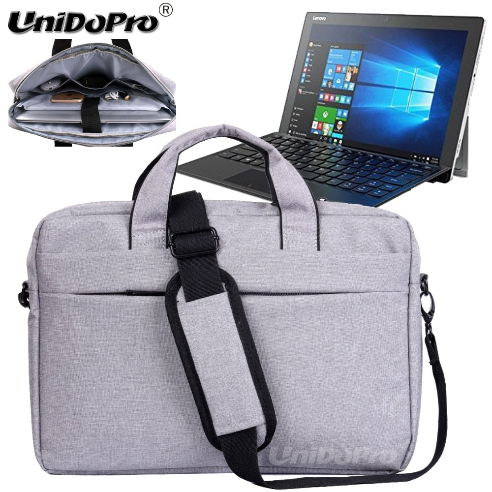 "UNIDOPRO Waterproof Messenger Shoulder Bag Case for Lenovo Miix 510, Miix 700 12.2"" Spin 2-in-1 Tablet Sleeve Cover"