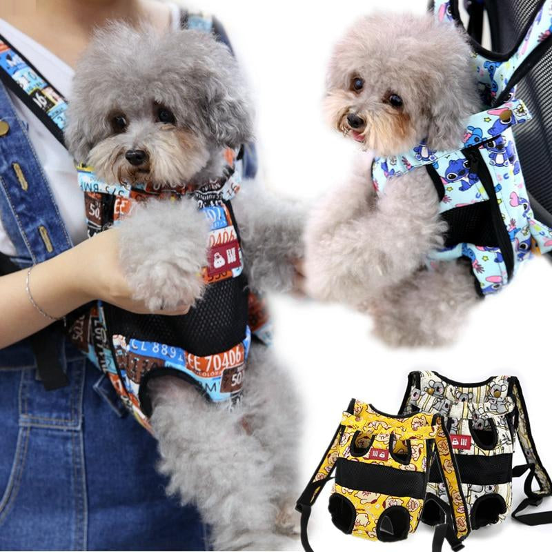 Luxury Pet Backpack Carrier Cute Small Medium Animal Dog Cat Outdoor Travel Transport Carrying Shoulder Front Back Bag Product