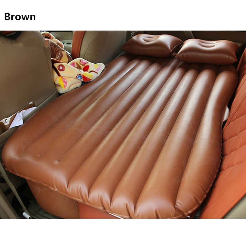 Car Bed Inflatable Car Air Mattress Travel Bed Inflatable TPU Camping Folding Bed Car Mattress        Colchon Inflable Para Auto