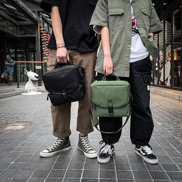 Fashion Chest Bag 2020 Chest Bag new street trend hip hop bag simple solid color couple outdoor travel
