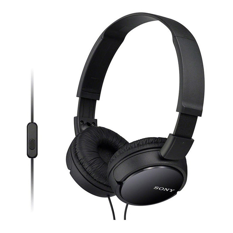 SONY MDR-ZX110AP ZX Series Headset Subwoofer Headphone Tablet Phone Headset with mic