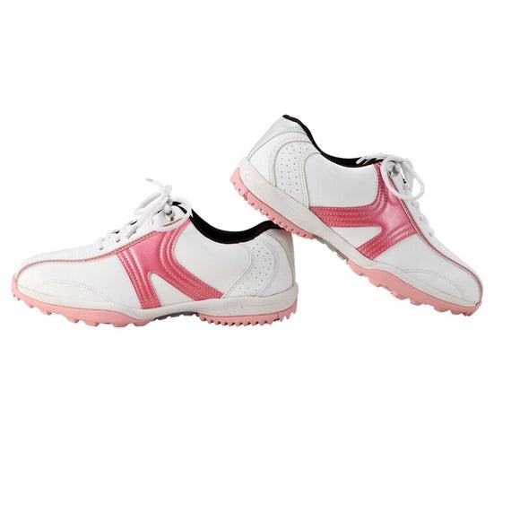 2020 Woman Golf Shoes Outdoor Breathable Golf Sneakers Women Waterproof Outdoor Golf Shoes Breathable Lightweight Trainers D0383