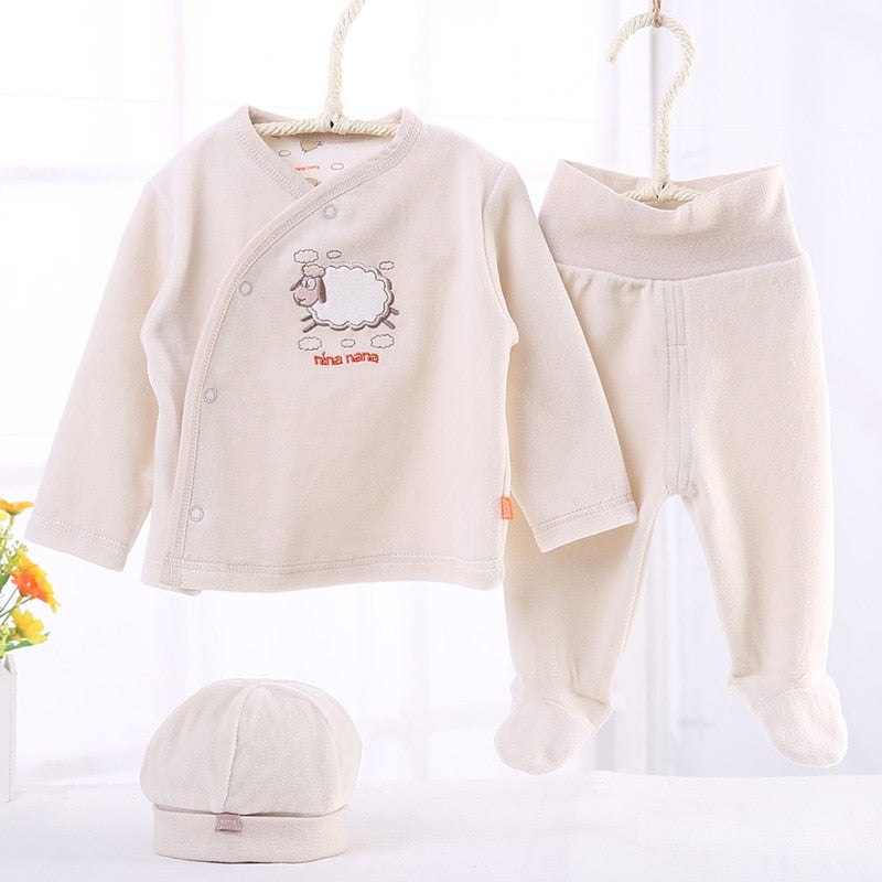 Baby clothes children set infant 3pcs pack baby t shirt hat baby pants children boys girls clothes baby gift children clothing