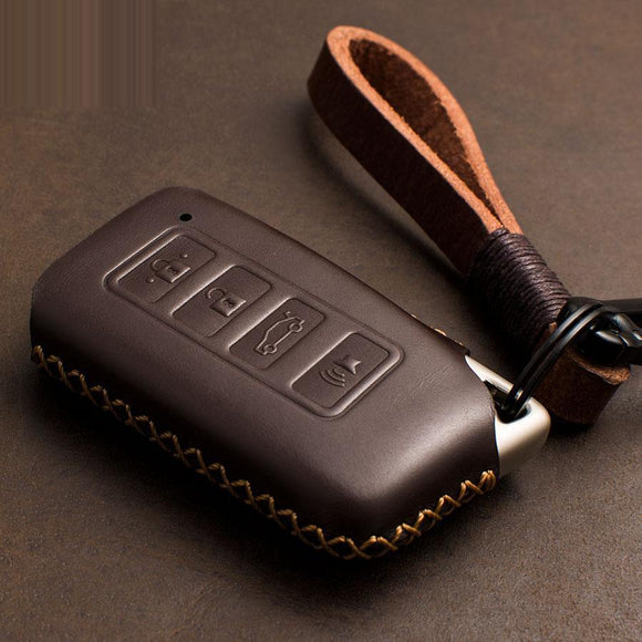 1 PCS Genuine Leather Key Case Key Cover Protect Bag for Lexus NX200 ES200 250 RX200t case Key shell ES RS GS IS LX NX Series