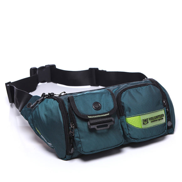 2017 Men Waterproof Oxford Waist Pack Bag Motorcycle Rider Hip Bum Belt Purse Travel Fanny Shoulder Cross body Sling Chest Bags