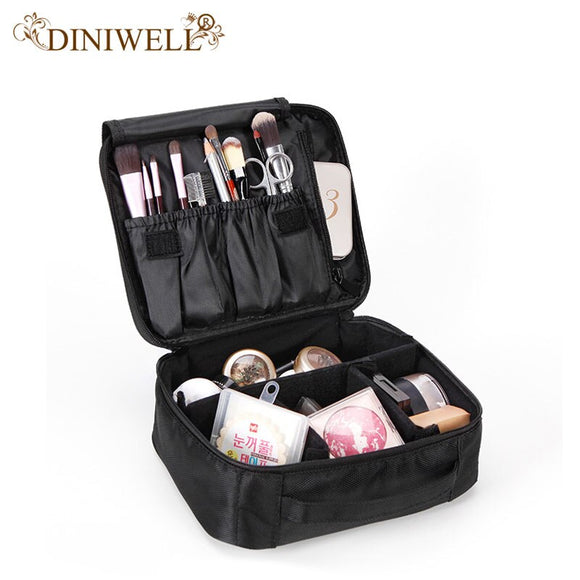 Fashion Women Makeup Organizer Large Capacity Multilayer Clapboard Cosmetic Bag Case Beauty Salon Bolso Mujer Cosmetic Case