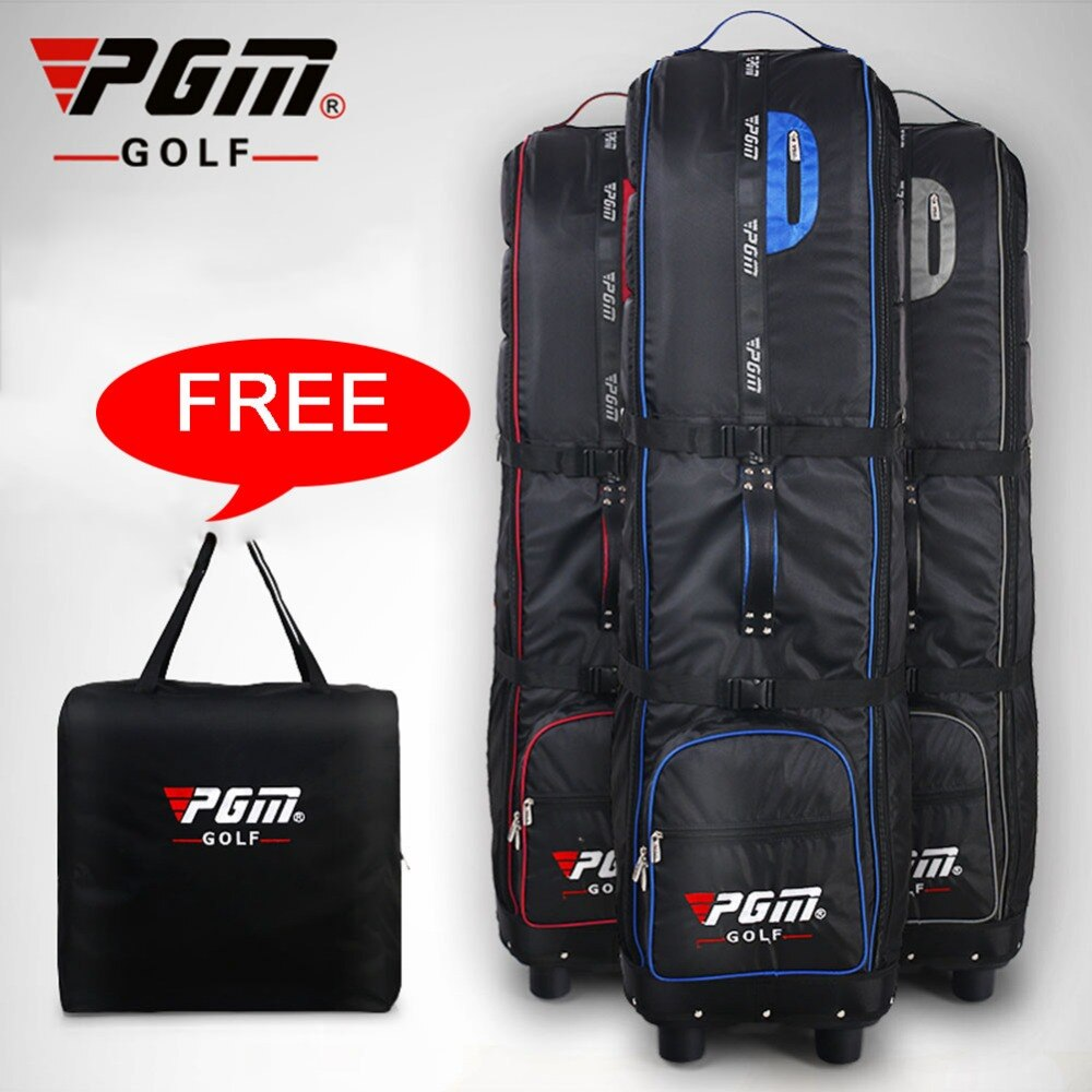 Pgm Brand Golf Aviation Bag Waterproof Nylon Large Capacity Golf Bag Practical Foldable Airplane Travel Thicken Bag Cover D0070