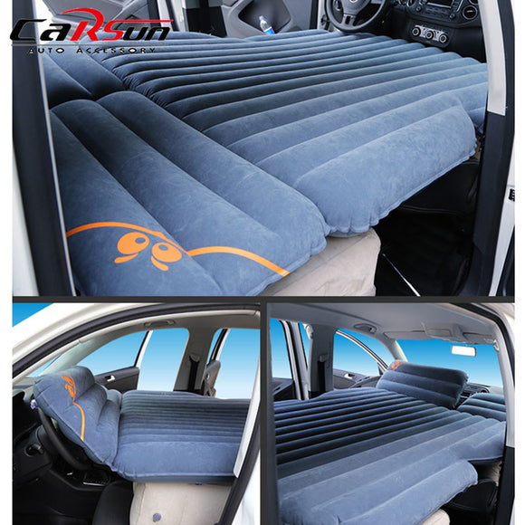 6/4 Car Travel Bed Camping Car Bed Portable Waterproof Car Mattress Inflatable Mattress Colchon Inflable Para Auto 175*130*10cm