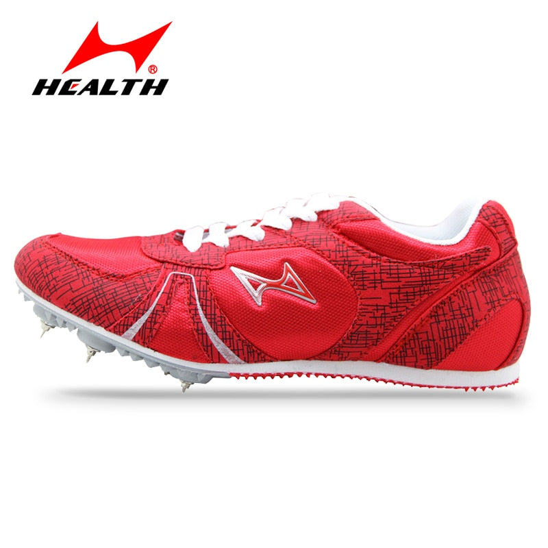 Health track and field for men spike nail shoes Student training sprint running shoes 2016 sneakers Men Sport Shoes size 33-45